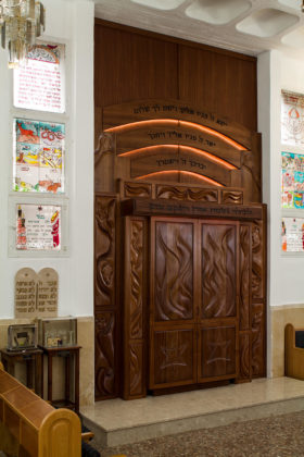 Priestly Blessing Torah Ark (Aron Kodesh)